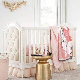 Blythe Upholstered Convertible Crib | Pottery Barn Kids