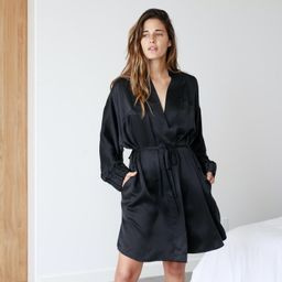 Washable Silk Robe   Lunya
