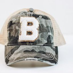 Monogrammed Distressed Camo Hat with Chenille Patch - CC  Camouflage Cap - Personalized Ball Cap ...   Etsy (US)