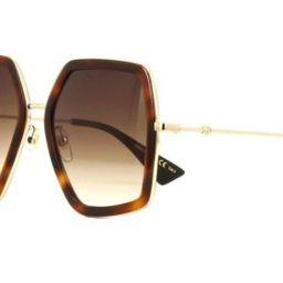 Gucci GG0106S havana gold/brown shaded (002 AE) Sunglasses 889652078106 | eBay | eBay US