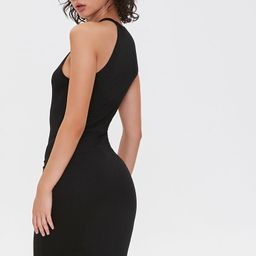 Sleeveless Bodycon Dress in Black, Size XS   Forever 21 (US)