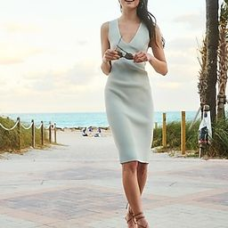 Sleeveless Ribbed Midi Sweater Dress   Express