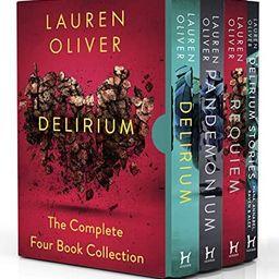Delirium Series The Complete 4 Books Collection Box Set by Lauren Oliver (Delirium, Pandemonium, ... | Amazon (US)