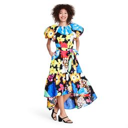 Floral Puff Sleeve High-Low Dress - Christopher John Rogers for Target XXS   Target