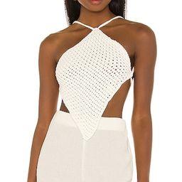 x REVOLVE Magdala Top in White   Revolve Clothing (Global)