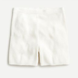 Ribbed cotton-cashmere short | J.Crew US