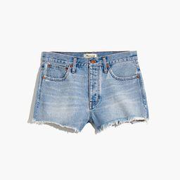 Relaxed Denim Shorts in Cedarcroft Wash | Madewell