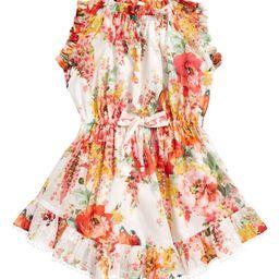 Kids' Mae Floral Print Flip Dress | Nordstrom | Nordstrom