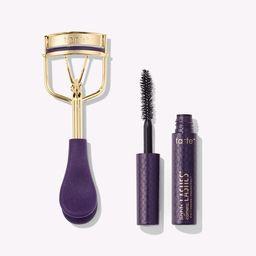 picture perfect™ eyelash curler & deluxe lights, camera, lashes™ mascara | tarte cosmetics
