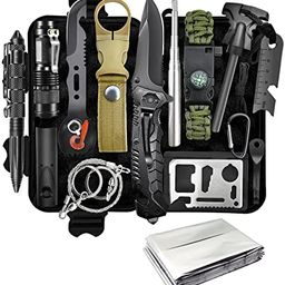 Gifts for Men Dad Husband Boyfriend Fathers Day, Survival Gear and Equipment 13 in 1 Emergency Su... | Amazon (US)