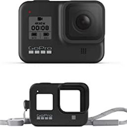 GoPro HERO8 Black Waterproof Action Camera with Touch Screen 4K Ultra HD Video 12MP Photos 1080p ... | Amazon (US)