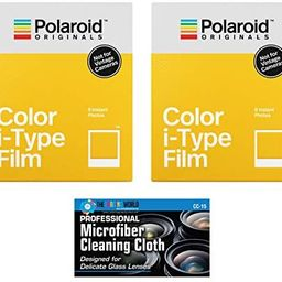 Impossible/Polaroid Color Glossy Instant Film for Polaroid Originals I-Type OneStep2 Camera - 2-P... | Amazon (US)