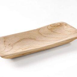 "Goaholic Wooden Dough Bowl - 15.5""x 6.2""x 1.6"" Decorative Bowl For Storaging Fruits, Vegetables o...   Amazon (US)"