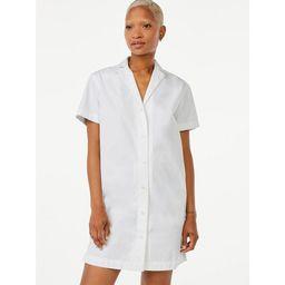 Free Assembly Women's Camp Shirtdress | Walmart (US)