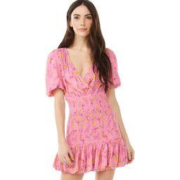 Scoop Women's Mini Dress with Puff Sleeves | Walmart (US)