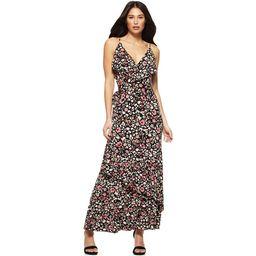 Sofia Jeans by Sofia Vergara Women's Knit Faux Wrap Dress | Walmart (US)