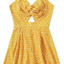 Romwe Women's Plus Size Floral Sleeveless Twist Front Backless Cami Romper Jumpsuit   Amazon (US)