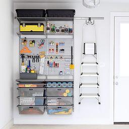 Platinum Elfa Utility Small Garage | The Container Store