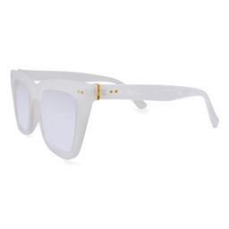 fantas-eyes Women's Sunglasses ND - White Lulu Cat-Eye Sunglasses   Zulily