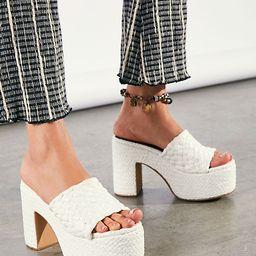 Marla Woven Platform Sandals | Free People (US)