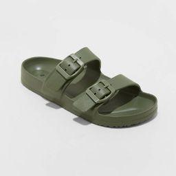 Women's Neida EVA Two Band Slide Sandals - Shade & Shore™ | Target