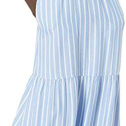 Amazon Essentials Women's Fluid Twill Tiered Midi Summer Dress   Amazon (US)