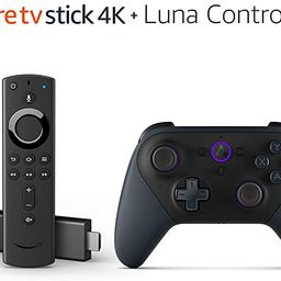 Fire TV Gaming Bundle including Fire TV Stick 4K and Luna Controller   Amazon (US)