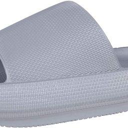 Pillow Slides Slippers for Women Men Non Slip Outdoor Shower Slides Shoes Bath Slippers | Amazon (US)
