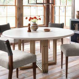 Kilmer Round Pedestal Dining Table | Pottery Barn (US)