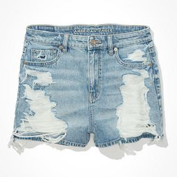 AE Denim Mom Shorts | American Eagle Outfitters (US & CA)