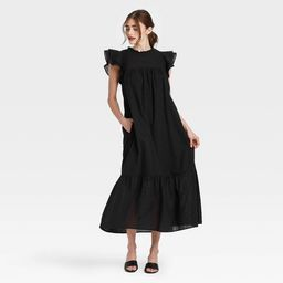 Women's Ruffle Short Sleeve Dress - Who What Wear™ | Target