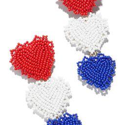 Americana Heart Drop Earrings   Nordstrom
