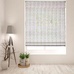 Arlo Blinds Cordless Whitewash Bamboo Roman Shade | Walmart (US)