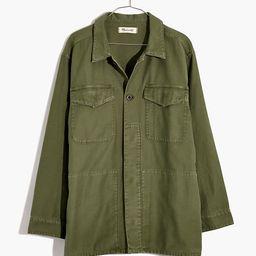 Military Shirt Jacket | Madewell