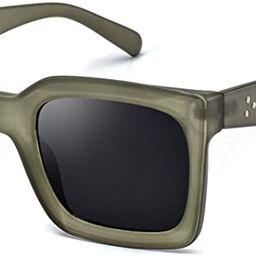 Mosanana Square Sunglasses for Women Stylish Fashion Sunnies MS51805 | Amazon (US)