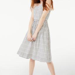 Free Assembly Women's Strappy Tiered Midi Dress | Walmart (US)