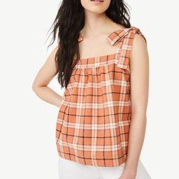 Free Assembly Women's Tie Shoulder Tank Top | Walmart (US)