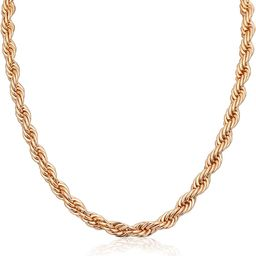 2021 New 18K Gold/Silver Plated Dainty Mother's Day Curb Link Chunky Chain/Choker/Paperclip Neckl...   Amazon (US)