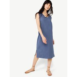 Free Assembly Women's Sleeveless U-Neck Midi Dress | Walmart (US)