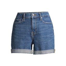 Free Assembly Women's Rolled Cuff Jean Shorts | Walmart (US)