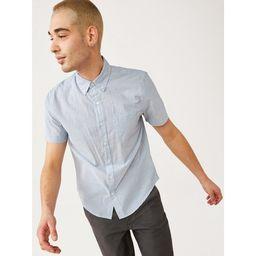 Free Assembly Men's Everyday Short Sleeve Button Down Shirt   Walmart (US)