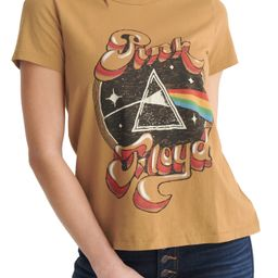Women's Lucky Brand Pink Floyd Graphic Tee, Size XX-Large - Brown   Nordstrom