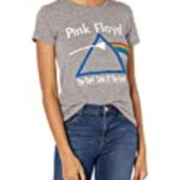 Lucky Brand Women's Short Sleeve Crew Neck Pink Floyd Dark Side Tee, Heather Grey, XS   Amazon (US)
