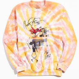 Pink Floyd The Wall Tie-Dye Crew Neck Sweatshirt   Urban Outfitters (US and RoW)