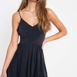 UO Vanessa Cupro Playsuit   Urban Outfitters (US and RoW)