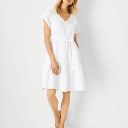 Gauze Pocket Flare Dress   Ann Taylor   Ann Taylor (US)
