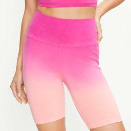 Lou & Grey Dip Dye Terry Bike Shorts | LOFT