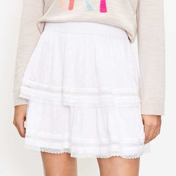 Clip Tiered Pull On Skirt | LOFT