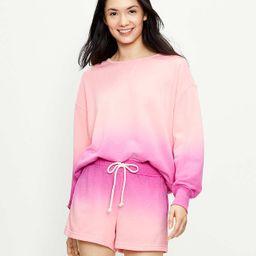 Lou & Grey Dip Dye Terry Sweatshirt | LOFT