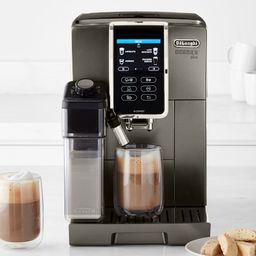 De'Longhi Dinamica Plus Fully Automatic Coffee Maker & Espresso Machine, Titanium | Williams-Sonoma